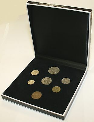 1958 Complete British Coin Set in a Specially Designed Quality Presentation Case