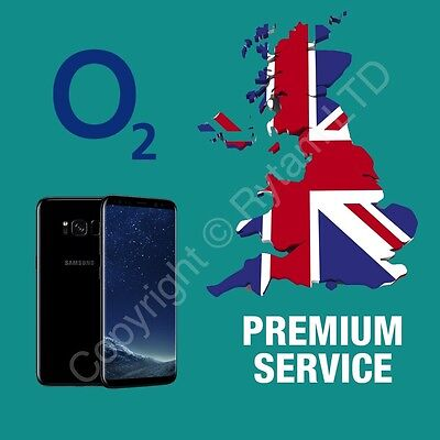 UNLOCKING For Samsung Galaxy S3 S4 S5 S6 S7 S8 Unlock Code Service O2 UK