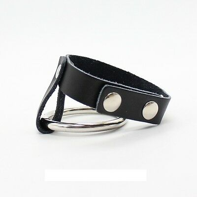 (I) 1 X Penis Ring With Strap ! Sexy Studded Fetish