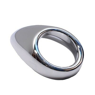 Super Shiny Metal Tongue Shaped Penis Ring Health Care Studcollar-ultraheavy-tear-drop