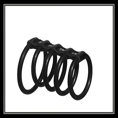 (N) 5 X Rubber Penis Rings !! Sexy Studded Bondage