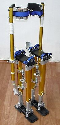 "Brand New Painter's & Drywall's Adjustable STILTS (15-23"") (Gold)"