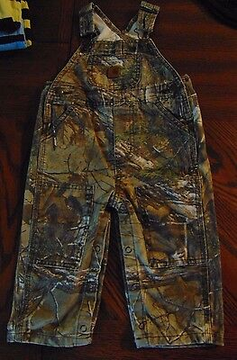 Baby Boy Clothes 12 months Carhartt Camo Overalls Pants Winter fall  Outfit