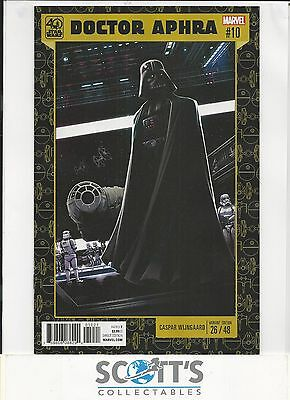 Star Wars Doctor Aphra #10 New 40Th Anniversary Variant  (Bagged & Boarded)