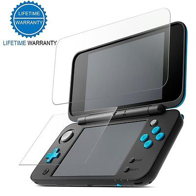 FoneM8 Glass Screen Protector Pack For New 2017 Nintendo 2DS XL