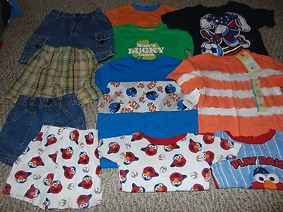 Lot Boy Clothes size 4 4T Summer shirt and shorts