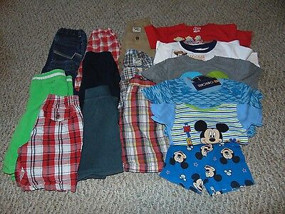 Lot Boy Clothes size 3 3T Summer shirt and shorts