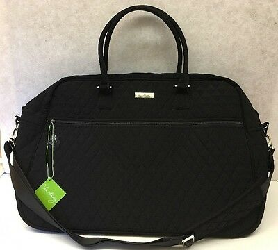 Vera Bradley Grand Traveler Travel Bag Classic Black:  -- New with tags --