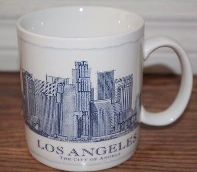 2006 Starbucks Los Angeles Architecture Collector Series City Coffee Cup Mug