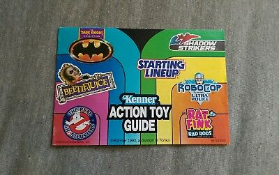 Kenner 1990 Action Toy Guide Pamphlet