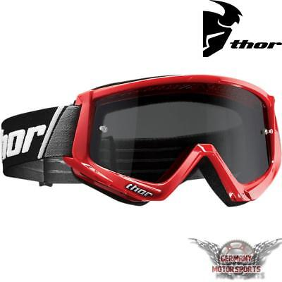 Motocross Brille Crossbrille Goggle Thor Combat Sand Rot Cross Enduro Offroad