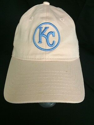 0b19133ef3f ... best price nwt kansas city royals cap hat light peach pink blue new era  9forty mlb ...