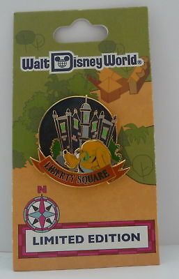 Walt Disney World 40th Anniversary Liberty Square Pluto LE Pin