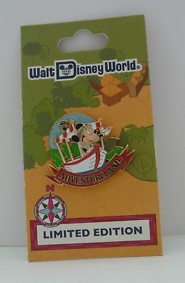 Walt Disney World 40th Anniversary Adventureland Mickey Mouse LE Pin