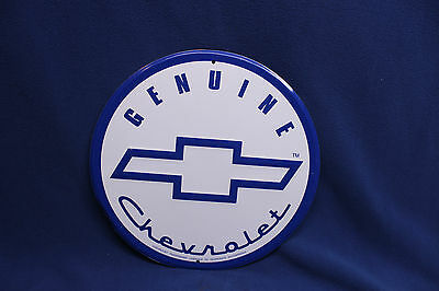 Genuine Chevrolet tin metal sign Bowtie Garage Decor
