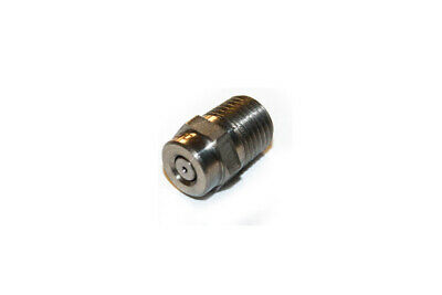 """Devilbiss Air Products Parts NOZZLE 1/4"""" Threaded 0 DEGREES, 4.5mm Press_ N04500"""