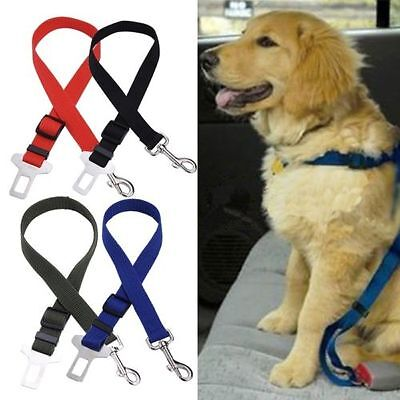 Pet Dog Car Vehicle Travel Safety Seat Belt Adjustable Harness Restraint Clip