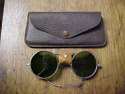 Vintage Motorcycle Safety Sunglasses - Steampunk