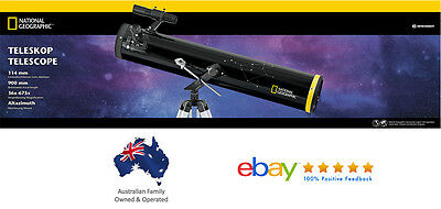 National Geographic 76/700 EQ Newtonian Reflector Telescope -Great for Beginners