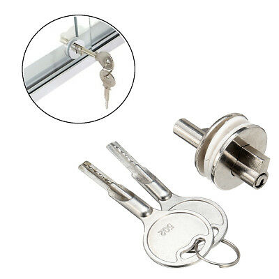 Sliding Keyed Lock For Drawer Cabinet Display Case Glass Showcase
