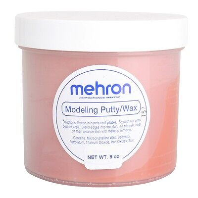 Mehron Modeling Putty Wax Special Effects Makeup Prosthetics Wax 240g Scar