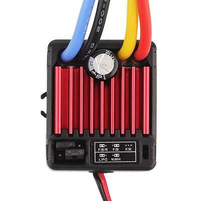 Waterproof Brushed 60A Electronic Speed Controller ESC 1060 for RC 1/10 Car Wn