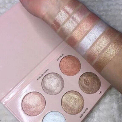 6 Colors Renaissance Eye Shadow Makeup Shimmer Matte Eyeshadow Palette Newest