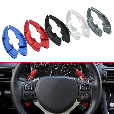Steering Wheel Gear Shift For Lexus NX IS RC Paddle Lever Extension Accessories