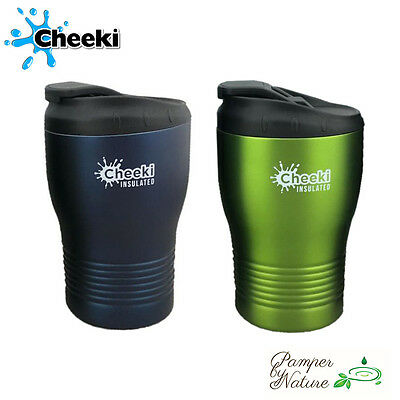 Cheeki Coffee Cups 240ml - Available in Lime & Ocean - FREE Shipping