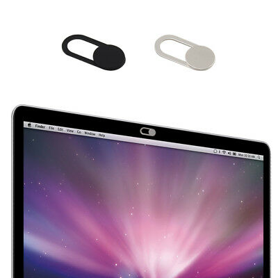 10Pcs WebCam Covers Protect your Privacy- Black & Silver