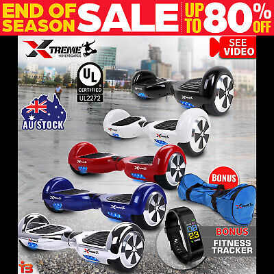 XTREME Smart Self Balancing Hoverboard Electric 2 Wheel Scooter Hover Board