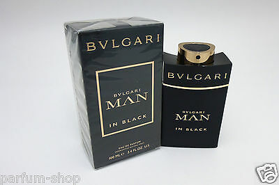 BVLGARI MAN IN BLACK EDP 100 ml Eau De Parfum Neu Originalverpackt