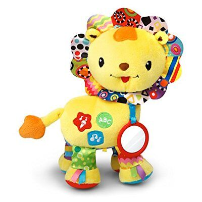 VTech Baby Crinkle and Roar Lion Baby Toys, New