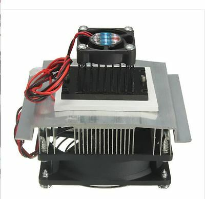 TEC1-12705 Thermoelectric Peltier Refrigeration Cooling System Kit Cooler TEC 6A