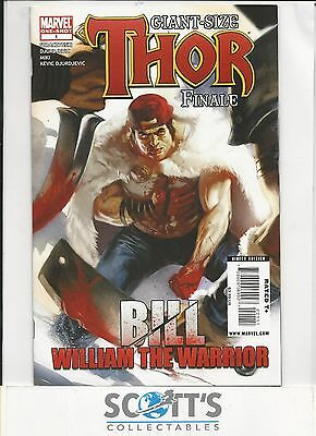 Giant Size Thor Finale  #1  NM  (2007)