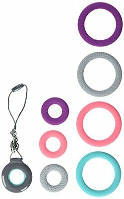 Infantino Pop of Color Chewy Teething Pendant & Bracelets Baby Teether Toys, New