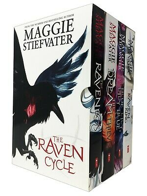 The Raven Cycle Series Maggie Stiefvater Collection 4 Books Set Raven Boys, King