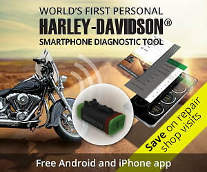 Harley-Davidson Motorcycle Diagnostic Device 4 pin - POCKET SIZED