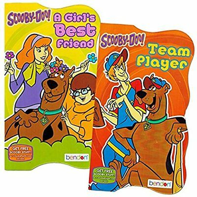 Scooby Doo Board Books Set of Two Books Assorted Titles Bathtub Toys, New