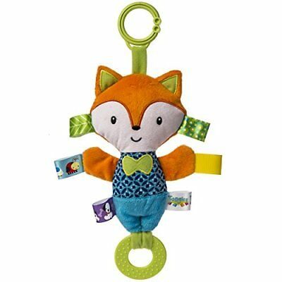 Taggies Crinkle Me Toy Squeaker Fox Baby Teether Toys, New