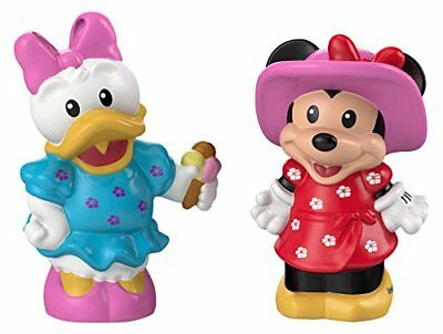 Fisher-Price Magic of Disney Minnie & Daisy Buddy Pack by Little People, New