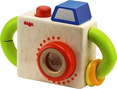 HABA Capture Fun Classic Wooden Camera Baby Toy Baby Toys, New