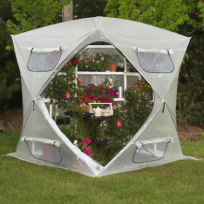 Flowerhouse Bloomhouse 7 Ft. W x 7 Ft. D Greenhouse