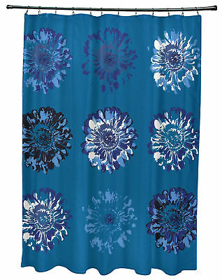 Bungalow Rose Willa Gypsy Floral 2 Print Shower Curtain
