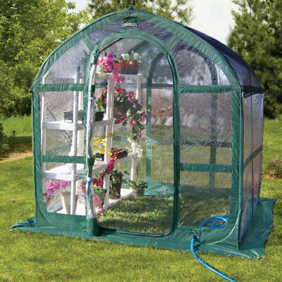 Flowerhouse Springhouse 6 Ft. W x 6 Ft. D Greenhouse XJ1015