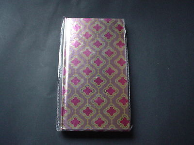 """Hardcover Journal  3.5"""" x 7""""  85 Lined Pages ~ New and Sealed"""