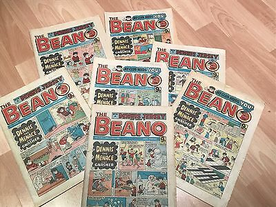 Vintage Beano Comics - Bundles of 10