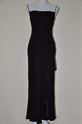 Used Womens Debenhams Debut Black Dress Size Uk 8 Eur 36