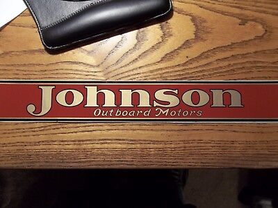 Johnson Outboard decal