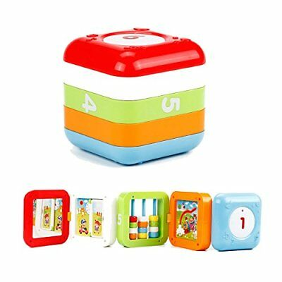 Vidatoy 7 in 1 Music Building Blocks Set For Kids Baby Building Stacking Toys
